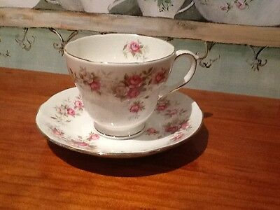 Shabby Chic Country Provincial High Tea Set Vintage Duchess Cup&Saucer Duo