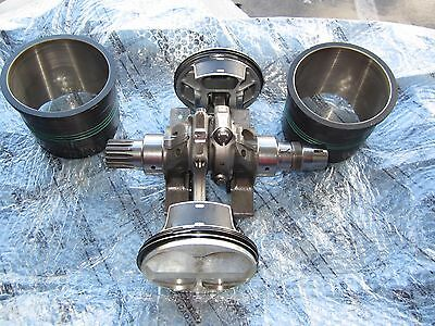 ducati 1299 panigale crank crankshaft connecting rods pistons cylinder sleeves