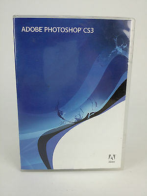 Adobe Photoshop CS3 for Windows FULL Retail w/ Serial Number and Video Workshop