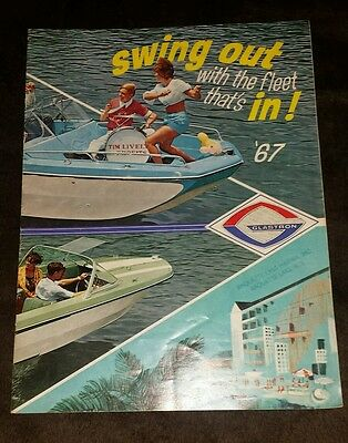 1967 Glastron Boat Advertising Booklet Raquette Lake NY