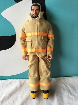 """GI Joe 12"""" Ken Friend Doll with Firefighter Yellow Outfit"""