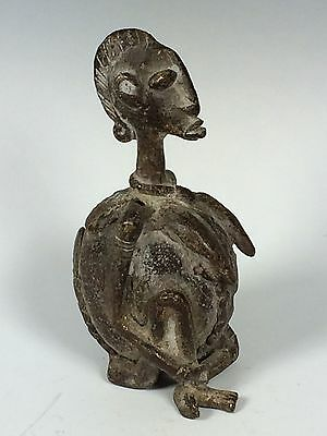 African Art Tribal Art Bronze Dogon Statue From Mali