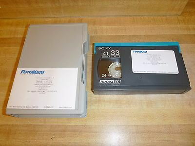 Sony 33 Minute Hdcam Sr Digital Hd Video Tape With Case - Look!