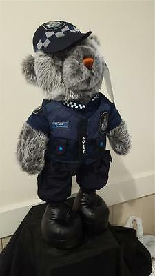 Constable T Bear, Limited Edition 14 inch QLD Police Bear, 2nd Edition numbered!