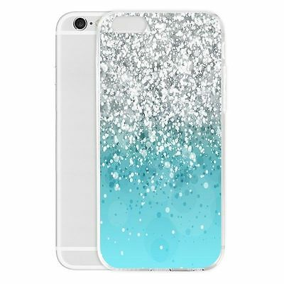 Glitter Bling Diamond Pattern Phone Case Shockproof Cover Bumper for iPhone 7 7+
