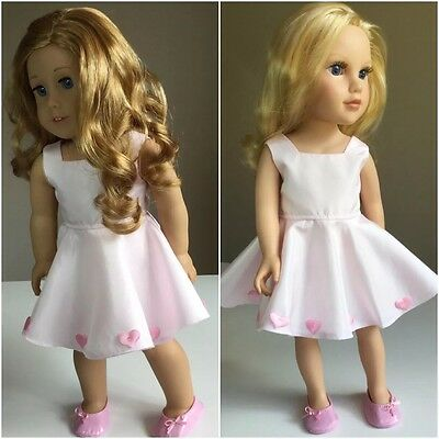 "American Girl Journey Gotz 46cm 18"" Doll Clothes ONLY. Dress  + Shoes"