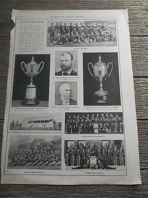 1907 Town Country Inverell Band Carnival Newcastle Toowoomba Newtown bands music