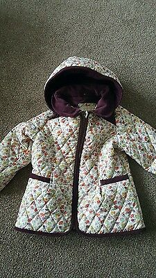 marks and spencers girls coat 2 -3 years