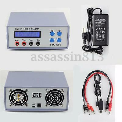 DC 12V Electronic Load Charger EBC-A05 Battery Capacity Gauge Power Bank Tester