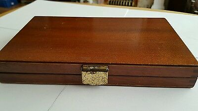 Antique / Vintage Lovely Wooden Fly Box