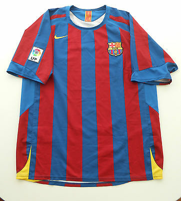 Camiseta FC Barcelona 2006 Nº5 Puyol 2ª Champions League shirt vs Arsenal jersey