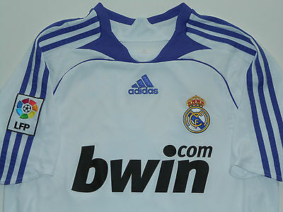 Camiseta Real Madrid shirt 2007 2008 Nº14 Guti jersey