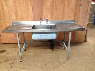 Stainless Steel Sink/drainer(catering,cafe,restaurant)
