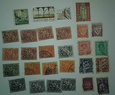Portugal used stamps