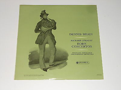 Columbia 33CX 1491 - Dennis Brain - Horn - LP - RICHARD STRAUSS - Concertos