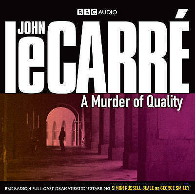 A Murder of Quality by John Le Carre (CD-Audio, 2009)-new/sealed