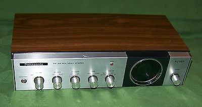 Vintage Panasonic FM-AM Multiplex Stereo IC FET RE-7412 (works but NR TLC)