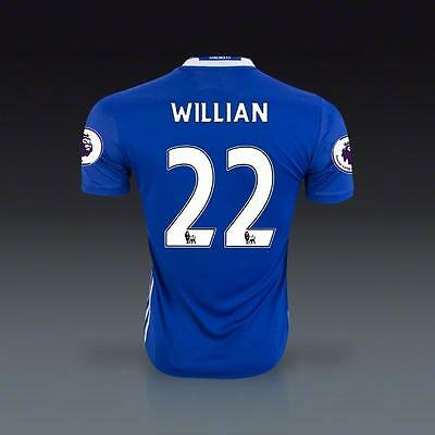 FC Chelsea Home Jersey WILLIAN 22 Soccer in L size