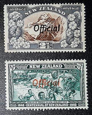 NEW ZEALAND Mounted Mint Official Stamps (No2024)