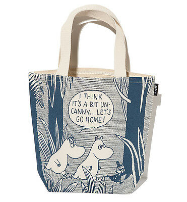 Japan Brand ZUCCA X Moomin Characters Canvas Lunch Bag from Japan Magazine