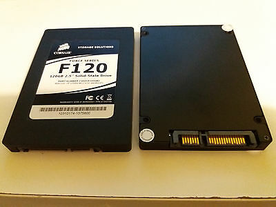 2 x corsair f120 force series 120 gb solid state drive