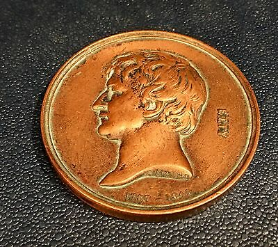William Etty Bronze Art Union Of London Medal 1872