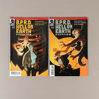 BPRD Hell on Earth Exorcism #1-2, Full Run, Lot of 2 comics, comp. VF+ set