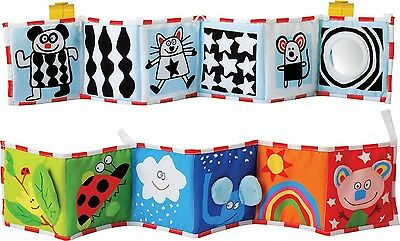 Fabric Baby Book Toy Activity Toddler Cloth Kids Pram Illustrated Christmas Gift