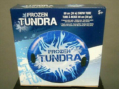 Frozen Tundra Inflatable Snow Tube With Handles New In Box...