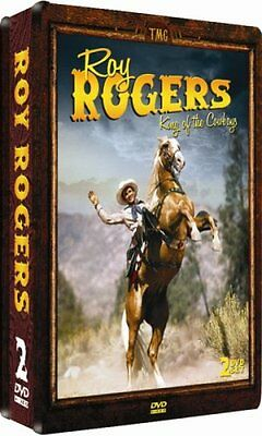 NEW Roy Rogers: King Of The Cowboys - 2 DVD COLLECTOR'S EDITION EMBOSSED TIN!
