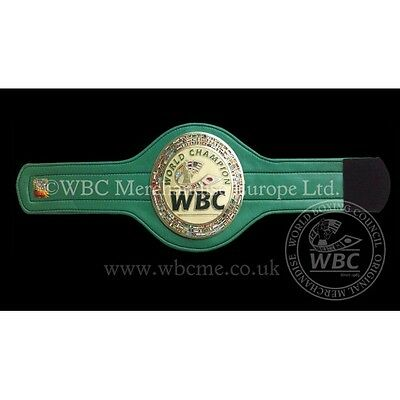 World Boxing Council Official Mini Belt