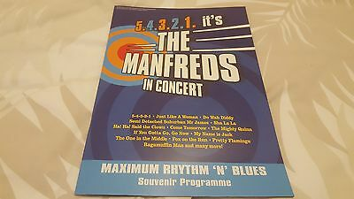 The Manfreds In Concert  Official Programme  With Autographs