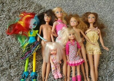 barbie dolls and accessories bundle