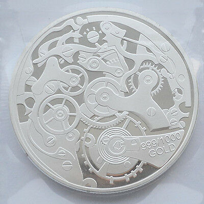 40mm diameter alloy commemorative coins Coin Collection ycl13