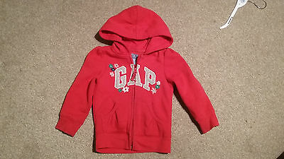 A Girls Pretty Gap Hooded Top Age 3 Years