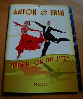 Anton & Erin Tour Programme - A Must For Strictly Come Dancing Fans !