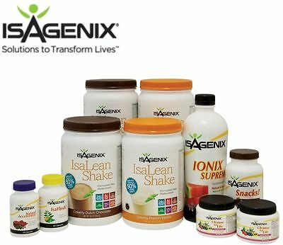 Isagenix 30 Day Nutritional Cleanse & Weight Loss Program Pack New