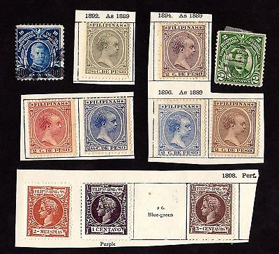 Stamps ~ THE PHILIPPINES Asia ~ 1800s & Early