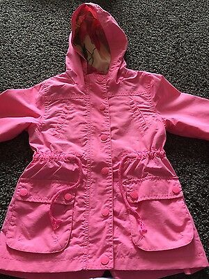 Next pink anorak/jacket aged 5-6, excellent conditionl