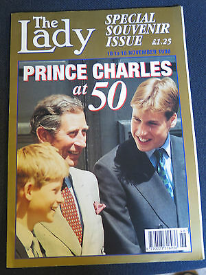 The Lady Magazine, 'Prince Charles at 50', Souvenir Issue, November 1998