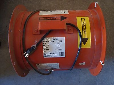 """Aeration Fan, 12"""", 3/4 hp, New, Never used"""
