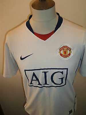 Manchester United Football Shirt Size Small