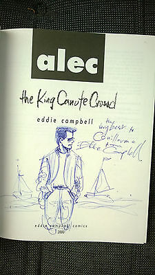 Alec - The king canute crowd + dédicace Eddie Campbell TBE