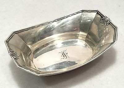 c.1909 WHITING Sterling Silver MADAM MORRIS Individual Nut Dish - No. 1065