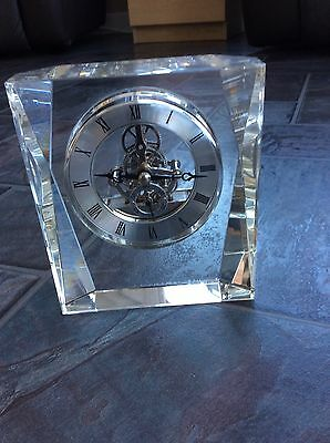 Beautiful Glass Cased Clock