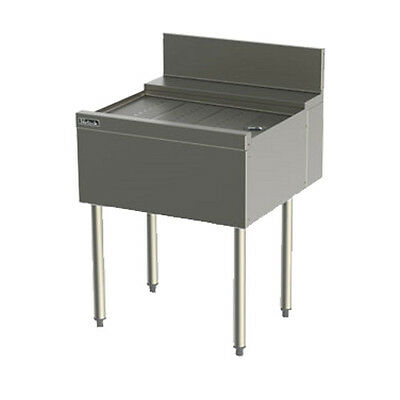 """Perlick TSF12 12"""" Underbar Drainboard With Embossed Top"""
