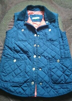Girls River Island Gillet age 11yrs