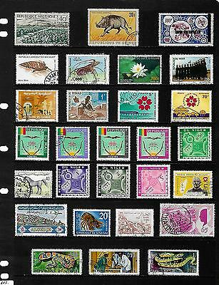 FORMER FRENCH COLONIES stamp selection.(ref.499)