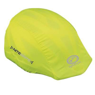 Optimum Sports New Nitebrite Cycling Bike Waterproof High - Viz Helmet Cover
