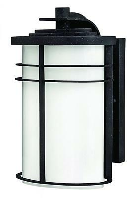 Hinkley 1124VK-GU24 One Light Vintage Black Wall Lantern Vintage Black 1 x 18W G